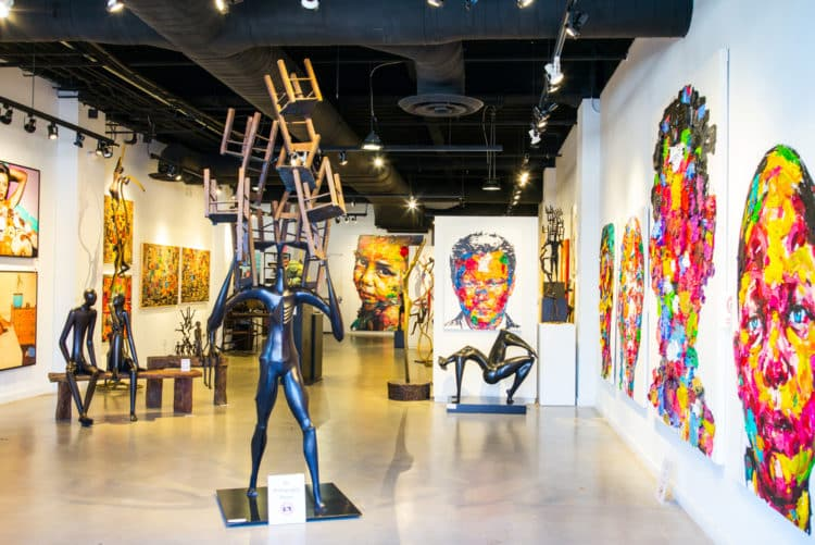 Exhibición de arte