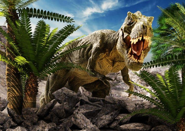 Parque de dinosaurios gigantes