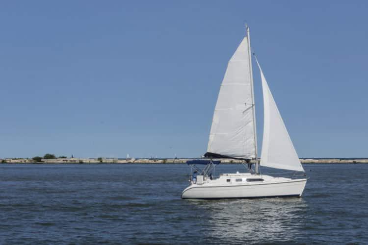 Crucero por el lago Erie