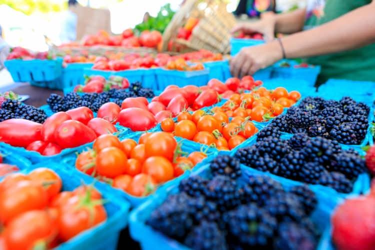 Mercado de agricultores de Kalamazoo