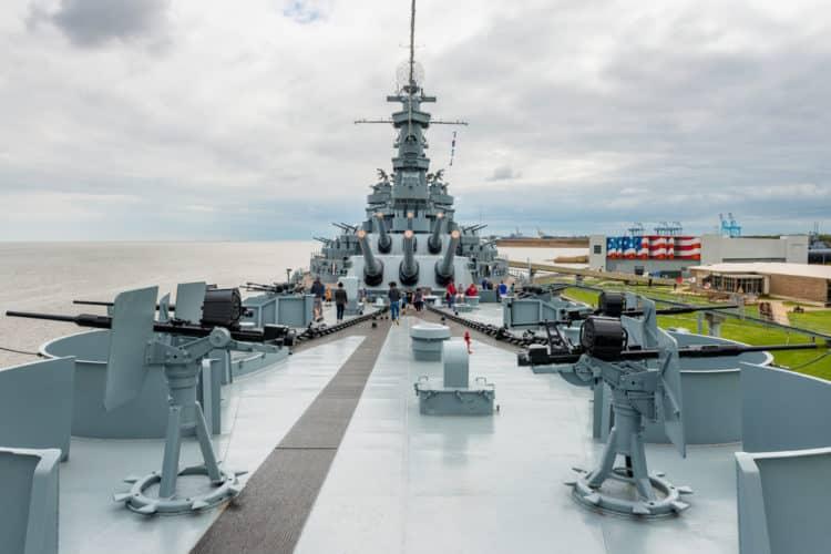 Parque conmemorativo del acorazado USS Alabama