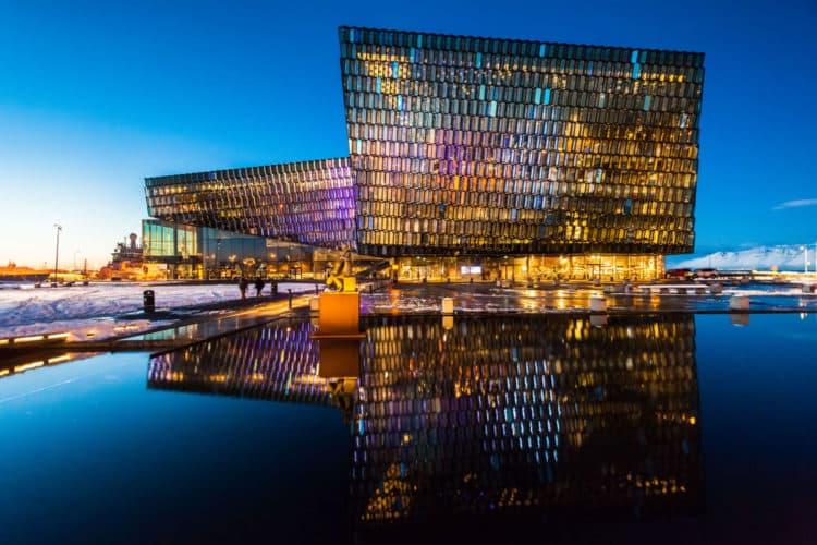 Sala de conciertos y centro de conferencias Harpa Reykjavik