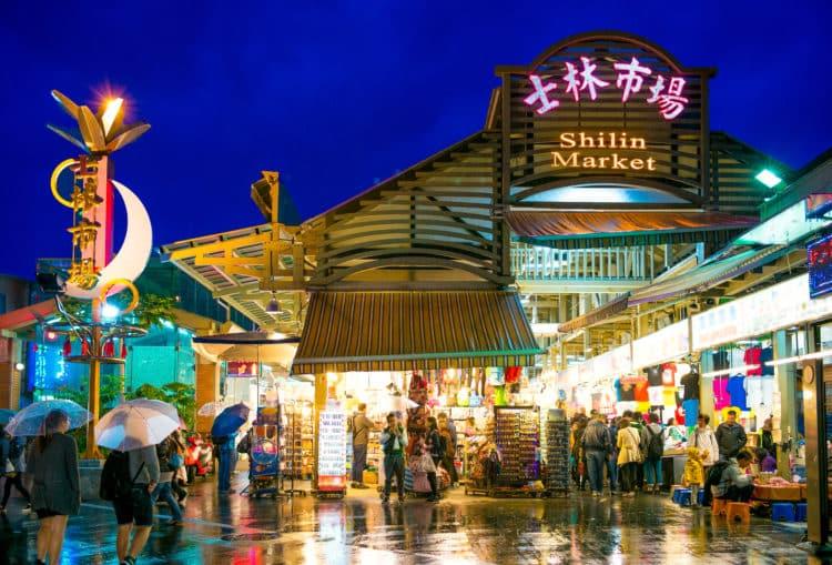 Mercado nocturno de Shilin