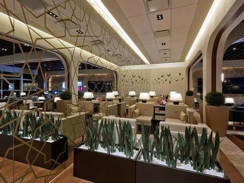 turkish airlines dulles lounge