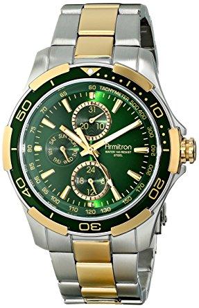 Armitron Men's 20 4677GNTT Los cinco mejores relojes Armitron que puede comprar hoy