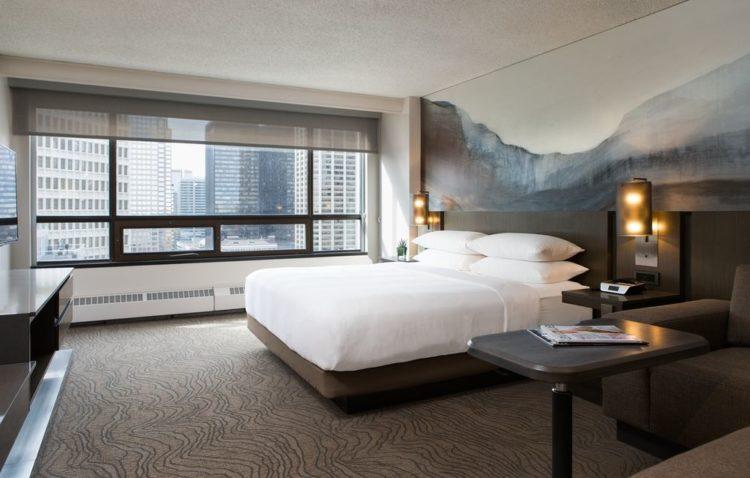 Calgary Marriot Downtown Hotel Los cinco mejores hoteles Marriott de categoría 5 en el mundo
