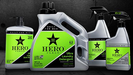 Hero Clean ¿Puede Hero Clean obtener participación en el mercado del detergente para ropa?