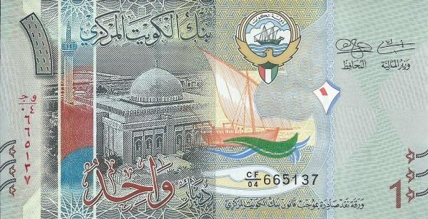 Dinar kuwaití Aquí están las 5 monedas más valiosas