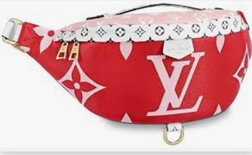 Louis Vuitton Giant Monogram 1. Louis Vuitton Belt Pouch y su valor