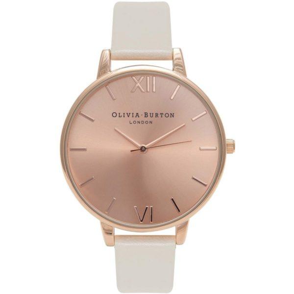 Olivia Burton Ladies Detail Nude and Rose Gold Watch Los 5 mejores relojes Olivia Burton del mercado actual