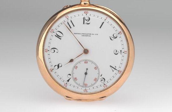 Patek Philippe Pink Gold Pocket Watch 1894 Una mirada más cercana al reloj de bolsillo de oro rosa Patek Philippe 1894 de $ 2,29 millones