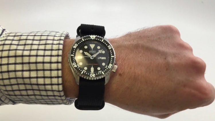 Seiko SKX007 Automatic Dive Watch Los 5 mejores relojes de buceo Seiko del mercado actual
