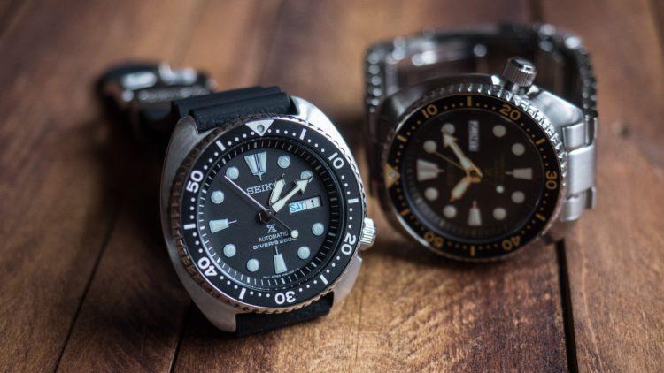 Seiko SRP777 Prospex Turtle Automatic Dive Watch e1531774879713 Los 5 mejores relojes de buceo Seiko del mercado actual