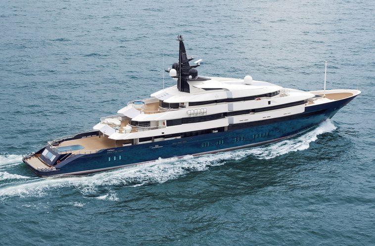 Seven Seas Yacht 1 Una mirada más cercana al yate Seven Seas de Steven Spielberg