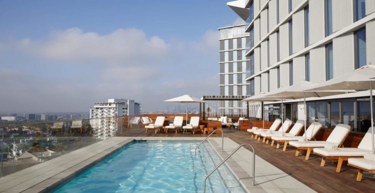 The Jeremy Hotel West Hollywood Los cinco mejores hoteles de 5 estrellas en Los Ángeles