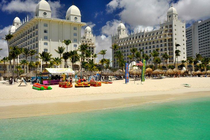 playa de palmeras