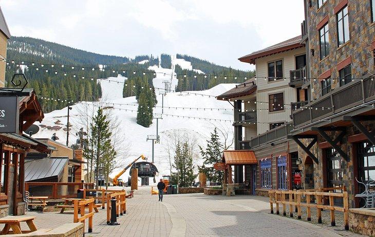 El pueblo de Copper Mountain