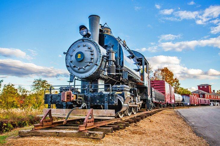 Tren de vapor de Essex