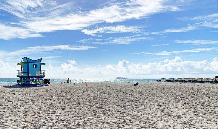La playa de la calle 21