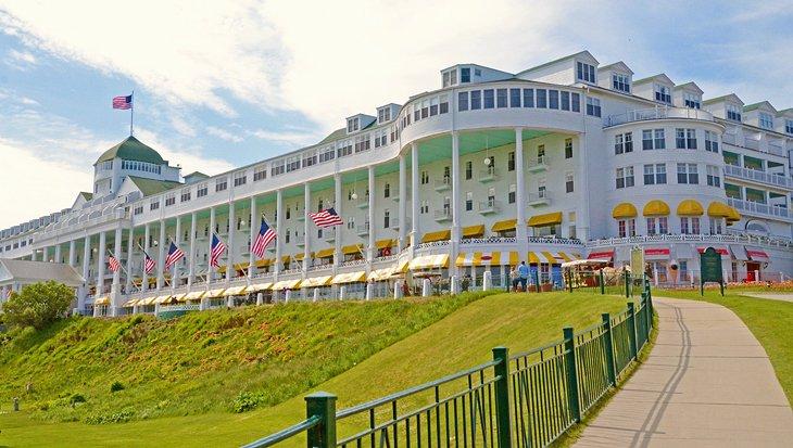 michigan mackinac island grand hotel 15 resorts mejor calificados en Michigan