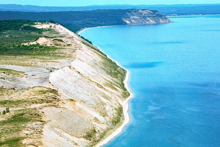 michigan top beaches empire sleeping bear dunes national lakeshore 10 playas mejor valoradas en Michigan