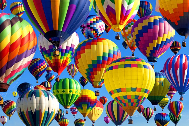 Fiesta internacional de globos aerostáticos de Albuquerque