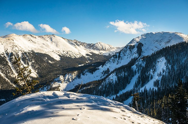Valle de esquí de Taos