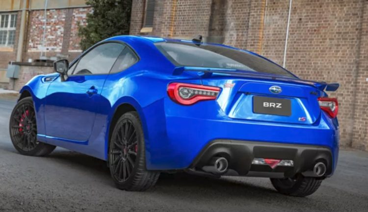 rear Una mirada más cercana al Subaru BRZ tS 2018