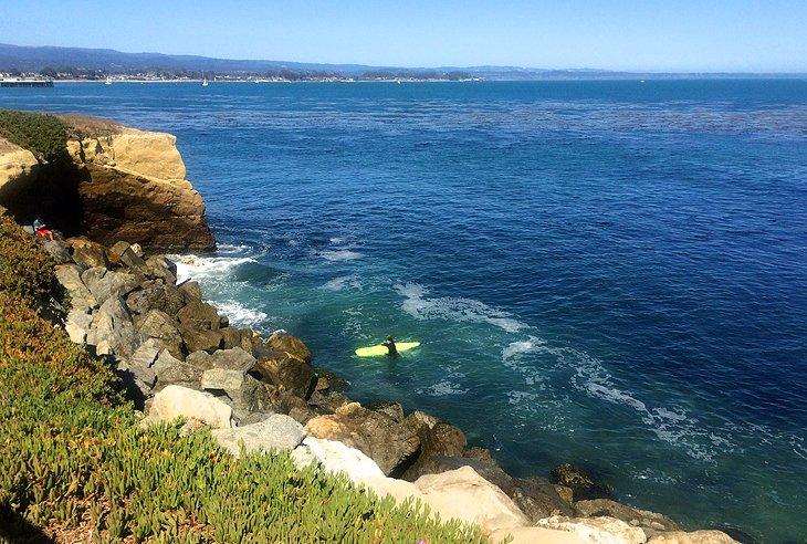 West Cliff Drive y el museo del surf