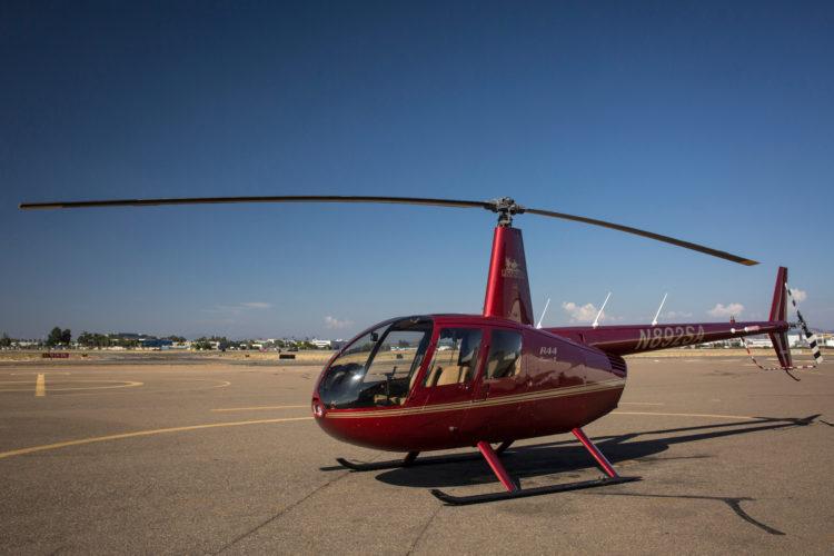 Realice un recorrido en helicóptero