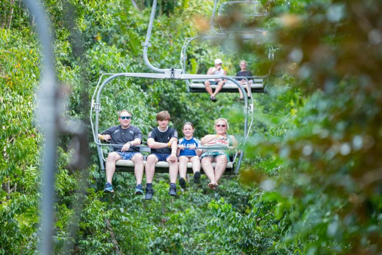 Parque de aventuras Mystic Mountain