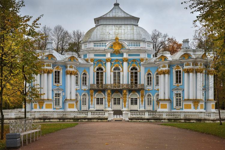 Museo y jardines del Hermitage
