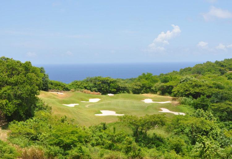 una ronda de golf