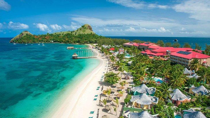 st lucia best resorts sandals grande st lucian 13 resorts mejor calificados en Santa Lucía