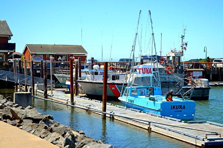 Bandon Harbour, adyacente a Bandon Olde Towne