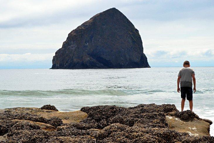 Haystack Rock en Pacific City