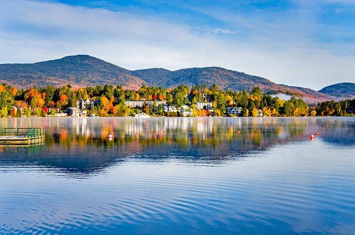 Lake Placid en otoño