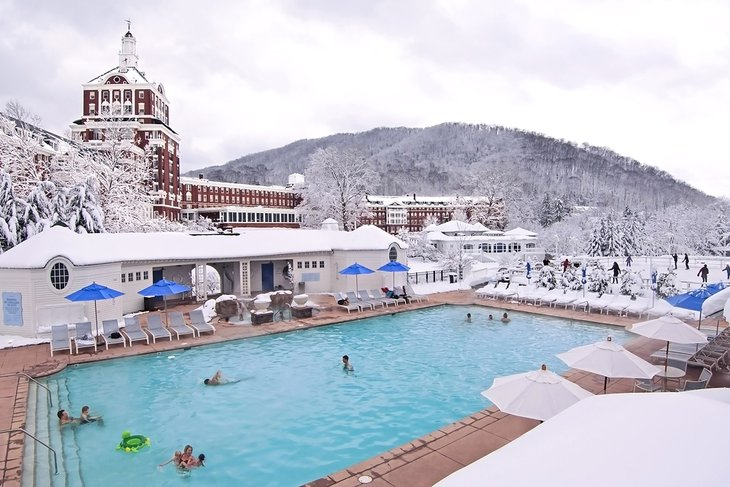 Piscina en The Omni Homestead Resort
