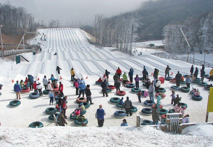 virginia best ski resorts wintergreen 4 mejores estaciones de esquí en Virginia