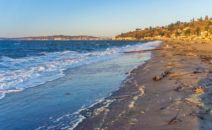 washington state best beaches alki beach seattle 13 mejores playas en el estado de Washington