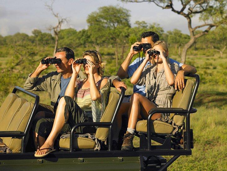 Parejas en un safari en Sabi Sands Game Reserve