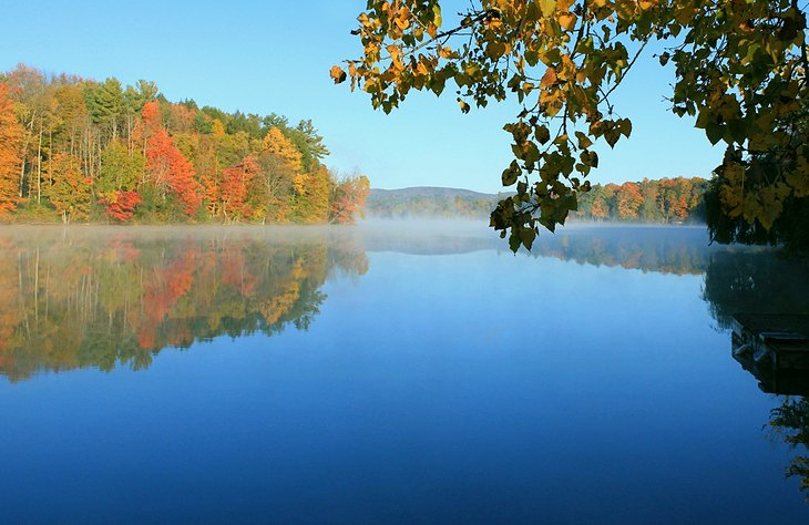 Laurel Lake en The Berkshires