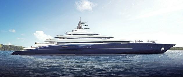 0doublecentury2 Una mirada más cercana al Superyacht Double Century de $ 770 millones