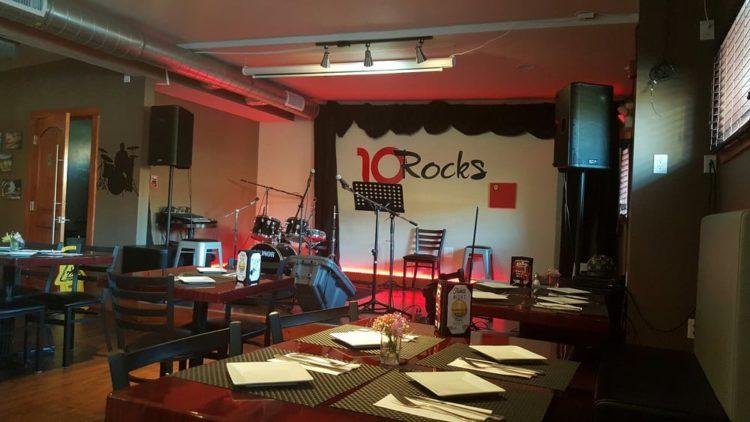 Bar de tapas y restaurante 10 Rocks