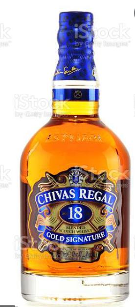 12 .Las 10 botellas de Chivas Regal más caras 2021