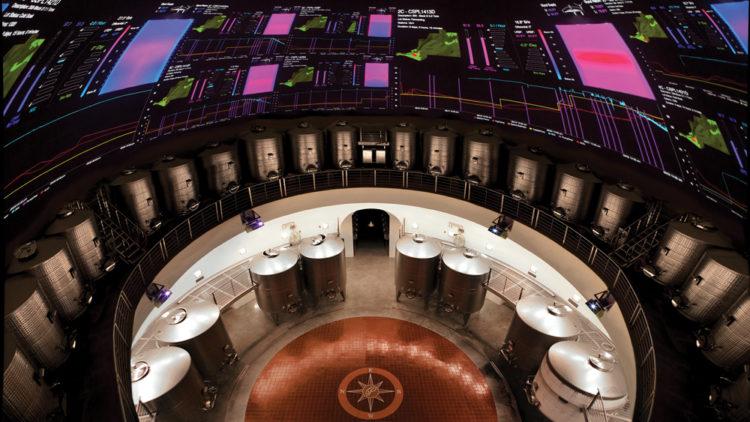 12 RR GAW Palmaz 05 Palmaz Vineyards de Napa es la bodega con mayor tecnología del mundo