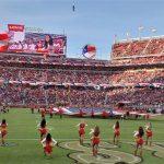 181102 49ers cheerleader mc 738 1729fcc0709c4e86b7af9c6e7fcb4489.fit 760w ¿Cuánto cuesta asistir a un partido de los San Francisco 49ers?