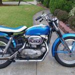 1967 Harley Sportster XLH La Harley-Davidson Sportster XLH de 1967