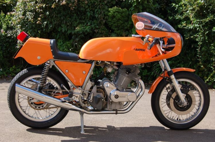 1971 laverda 750 sfc 2 Las 10 mejores motocicletas italianas de todos los tiempos