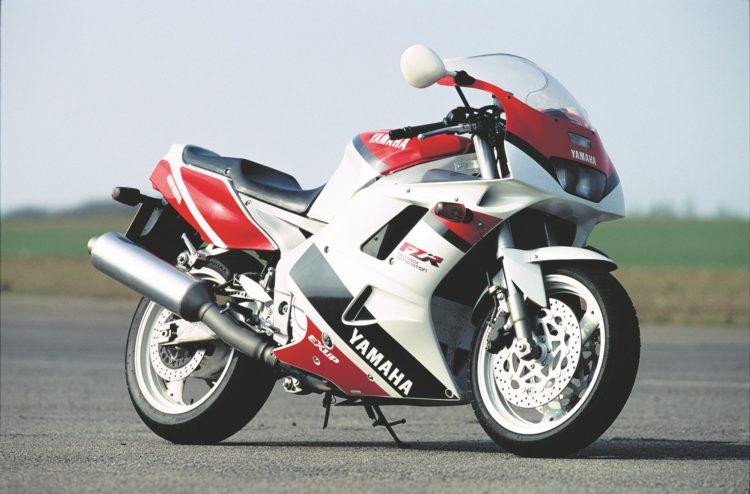 1991 yamaha fzr1000 Las 10 mejores motos deportivas de los 90